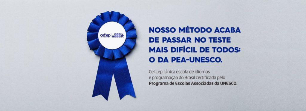 Cel.Lep recebe certificação PEA-UNESCO